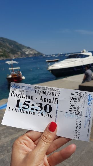 10-Ticket Positano Amalfi