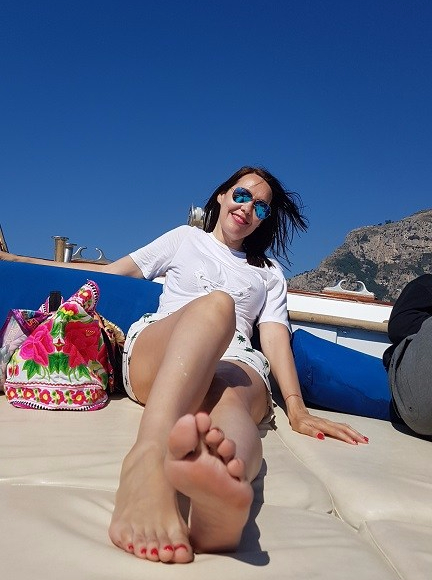 21-El barco privado rumbo a Capri