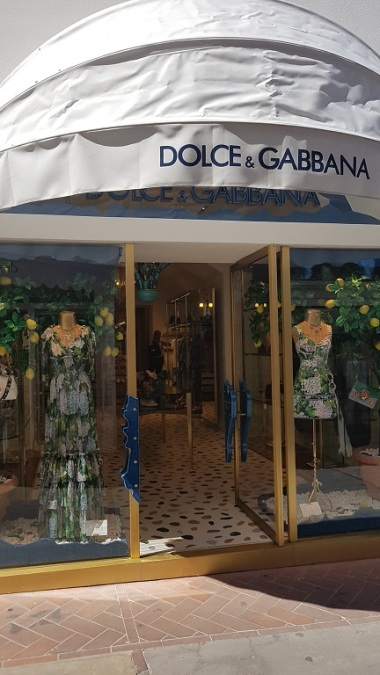 30-Dolce Gabbana en Capri