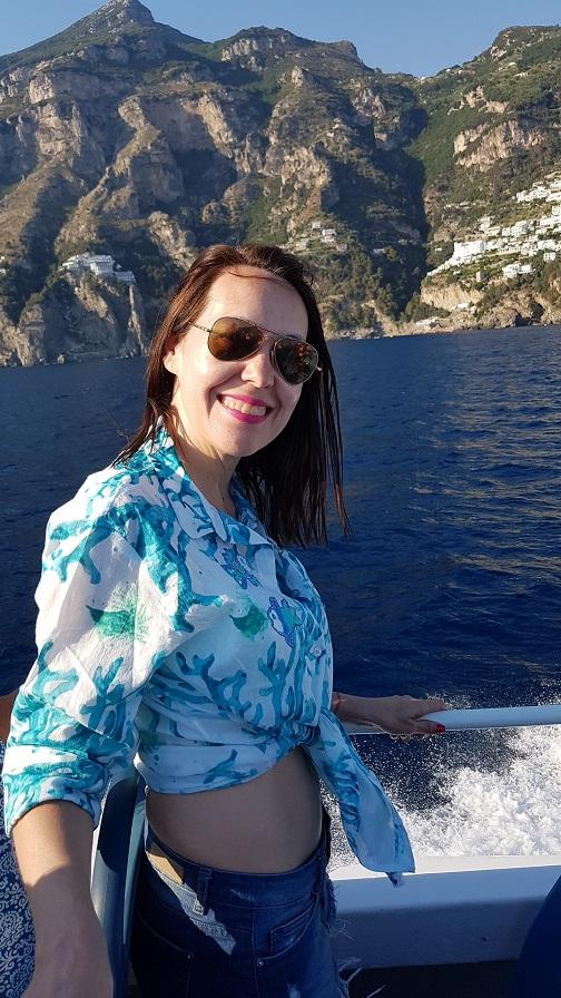 8-viaje desde Positano a Amalfi en barco