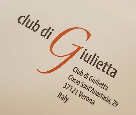 19-Esta es la direccion del Club Di Giulietta, agendala, escribi. Googlea.. tambien podes enviar un mail para que te respondan